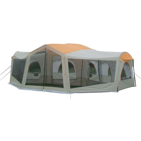 3 Room Tent With Screened Porch ozark trail 10 person 24 x 17 family cabin tent ozark trail 10 person tent ozark trail
