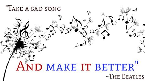 take a bad song and make it better quot take a sad song and make it better quot the beatles quot hey