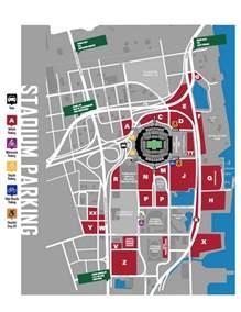Parking For Jaguars Parking Map Jaguars