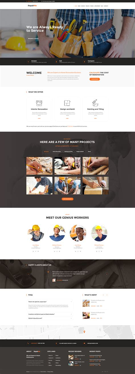 renovation theme repairme construction renovation theme by ancorathemes