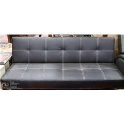 klick klack sofa bed new leatherette klick klack fold down sofa bed