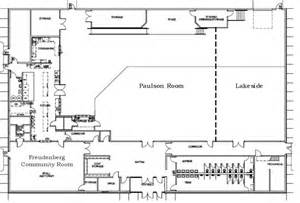 floor plan for the prairie event center in mn