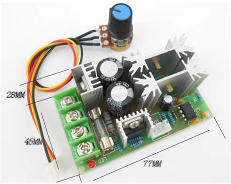 Dc Motor Speed Controller Dimmer Pwm 20a other electronics dimmer motor speed controller dc 6v