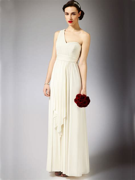 Firly Simple Maxi maxi style wedding dresses