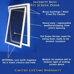 Ideal Pet Patio Door Security Boss Screen Pet Doors Pet Door For Sliding