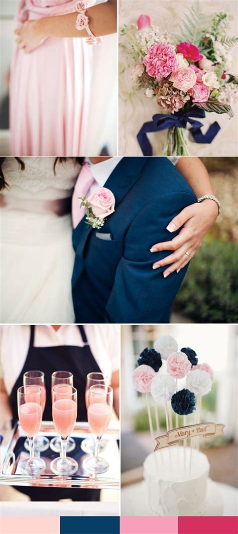 25 best ideas about navy pink weddings on blush wedding colour theme pink blue