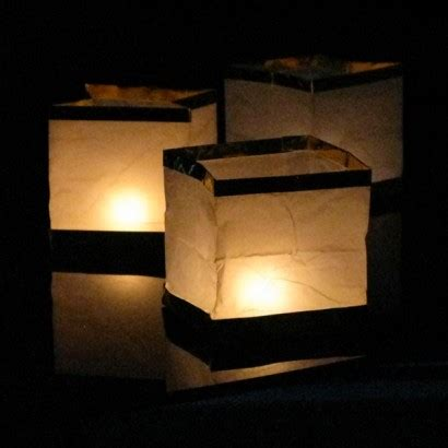How To Make Paper Lanterns That Float - floating paper lanterns