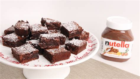 Nutella Brownis nutella brownies recipe vitale in the kitchen episode 1000