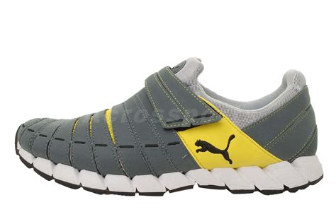 mens velcro athletic shoes osu nm grey yellow velcro mens running shoes