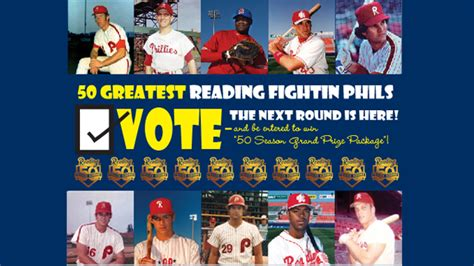 2nd annual phillies minor league digest a fan s view phillies minor league annual digests books second of voting now open for quot 50 seasons in reading