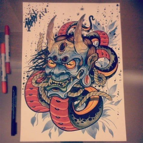 japanese tattoo ointment 426 best images about hanya oni on pinterest oni mask