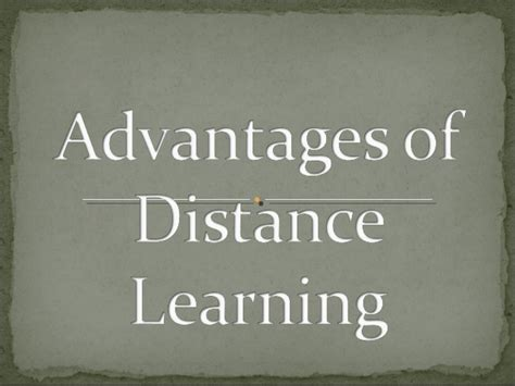 Distance Learning Mba Advantages Disadvantages by Pros Cons Of Distance Learning Advantages