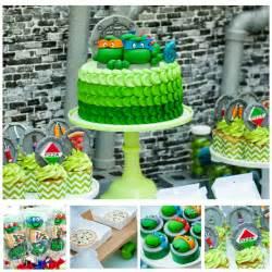 Ninja Turtle Birthday Decorations Teenage Mutant Ninja Turtles Party Ideas Supplies For Kids