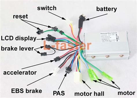 electric scooter controller wiring diagram wiring