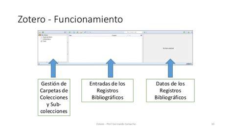 tutorial para usar zotero gestion de referencias bibliograficas con zotero