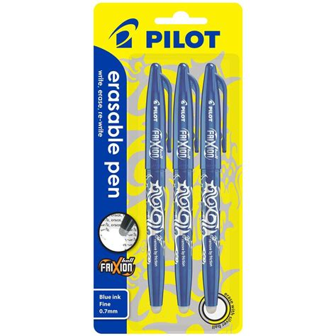 Ballpoint Pilot Frixion 0 woolworths pilot frixion ballpoint pen blue compare club