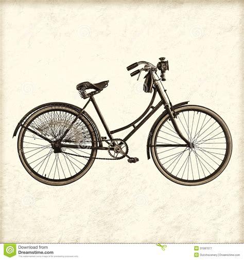 imagenes vintage bicicletas imagen dise 241 ada retra de una bicicleta de la se 241 ora del