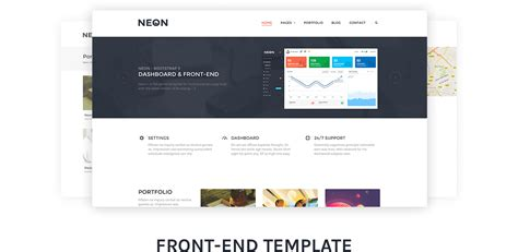 themeforest pages neon bootstrap admin theme by laborator themeforest