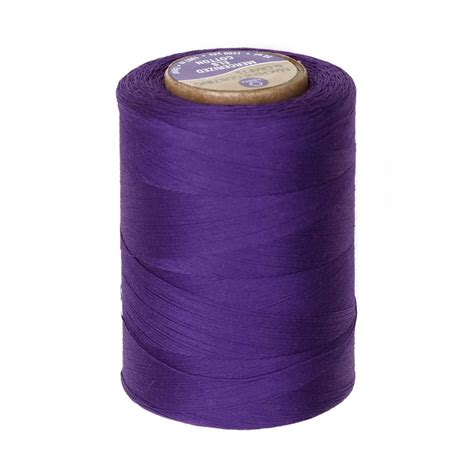 Cotton Machine Quilting Thread 1200 YD Purple   Discount