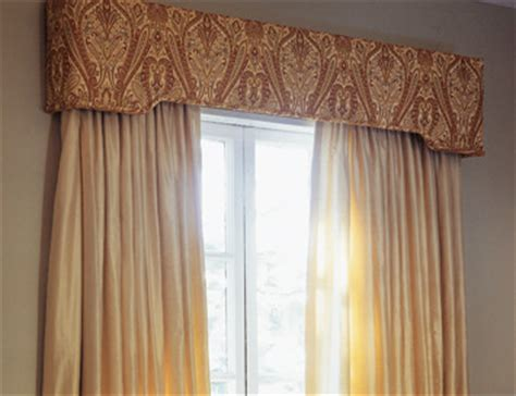 Custom Upholstered Window Cornices Upholstered Cornice Boards