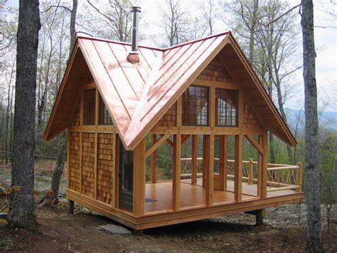 Small Cabin Kits Edmonton Timber Tea House