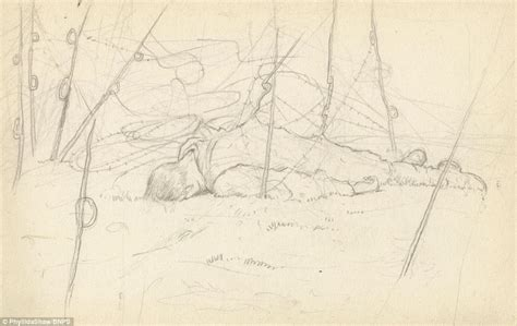 Sketches I Dig The by Soldier S Drawings Detail On Western Front