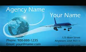 travel agency business card airplane and globe travel business card design 901051