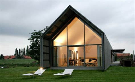 recycled belgian barn house by architect huys