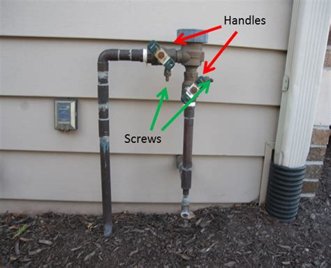 Sprinkler System Plumbing by Winterizing The Inspector