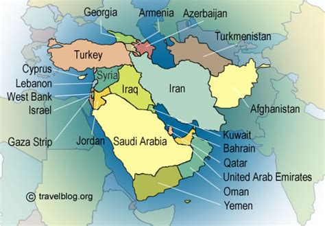 mideast region map globalhistorycullen everything middle east