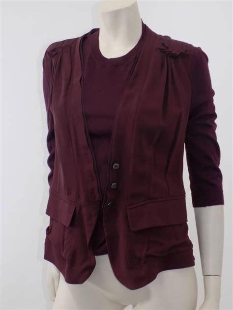 Jaket Rajut Top White Colour Jk662 1 ricci silk and sweater set jaket top at 1stdibs