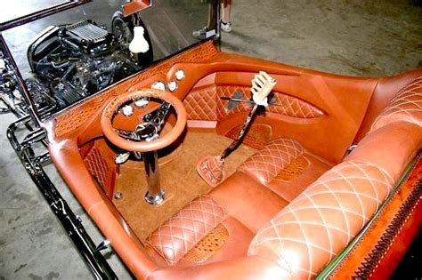 23 T Interior by Leatherseats S Rat Fink T