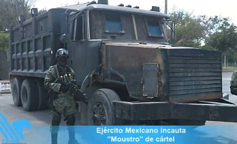 armored jeep after an attack by mexican cartel mexican cartels taking 191 war 191 on drugs very seriously 191 with