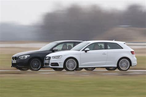 Auto Bild Sportscars Bmw M135i by Bmw F20 M135i Xdrive Vs Audi S3 Comparison Autoevolution