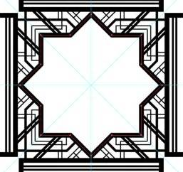 gatsby border template how to create a great gatsby style deco pattern