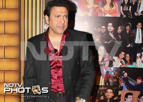 actor govinda niece spotted govinda at an awards show