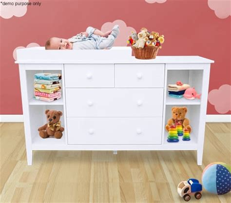 White Baby Changing Table With Drawers baby changing table cabinet with drawers white sales