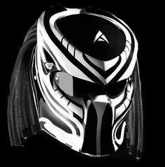 Helm Nhk Hurricane predator motorcycle custom helmet fighter
