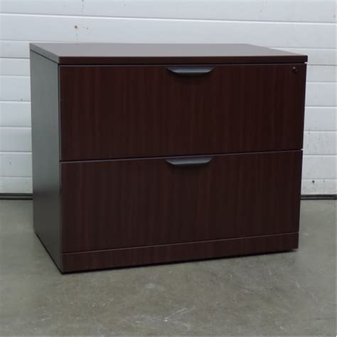 Mahogany Lateral File Cabinet 2 Drawer Mahogany 2 Drawer Lateral Filing Cabinet Locking Allsold Ca Buy Sell Used Office