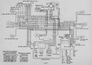 honda ss125 electrical wiring diagram circuit wiring