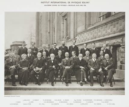science meeting 1924 why don fourth solvay physics conference brusels 1924 by
