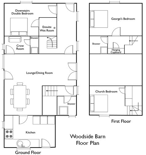 pole barn with apparment floor plans studio design