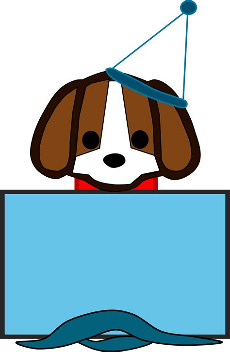 puppy present clipart puppy present
