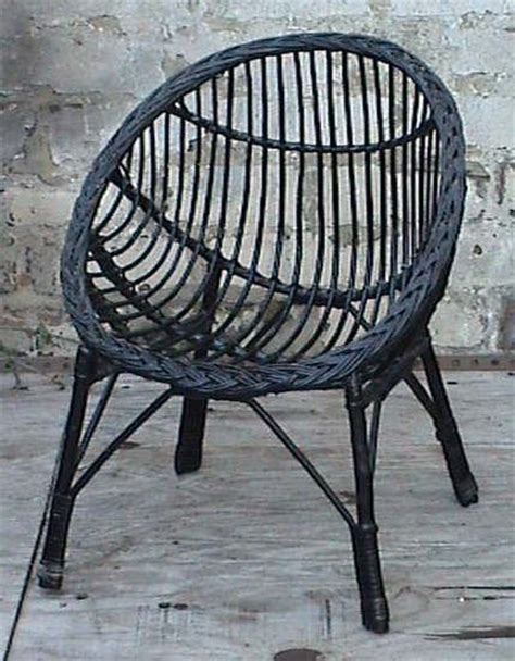 rattan bedroom chairs vintage retro home round child s childs cane wicker