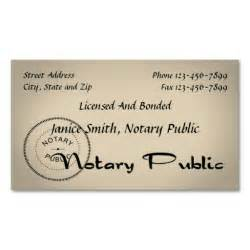 notary business cards notary business card design ideas