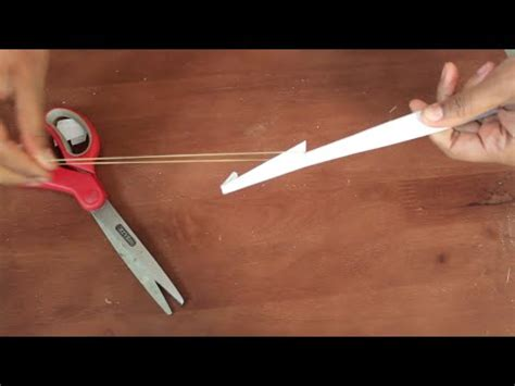 How To Make A Paper Arrow And Bow - how to make a paper bow and arrow