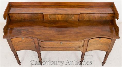 Buffet Mba Concentration by Regency Sideboard Buffet Serpentine Form Mahogany Server