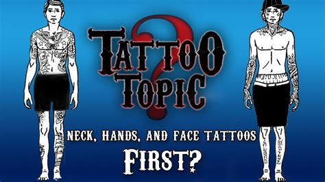 neck tattoo job killer tattoo topic hands neck and face first youtube