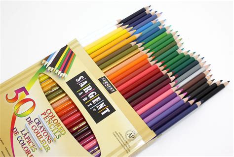 coloring pencils sargent 22 7251 colored pencils pack of