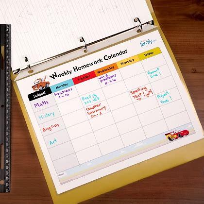 free printable weekly homework calendar blank homework calendar template calendar template 2016